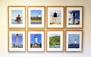 Lighthouse Gallery Wall (and Tips on Installing Any Gallery Wall)