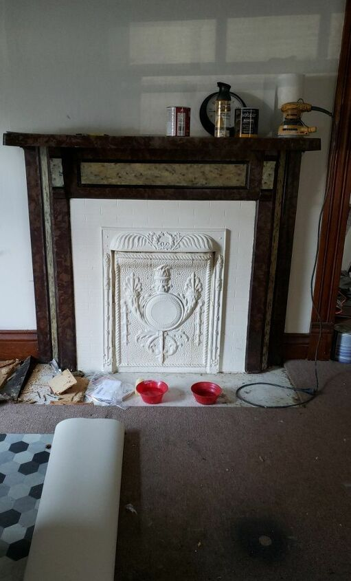 q disconnected fireplace