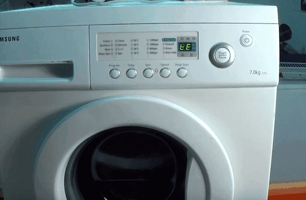 q washing machine gives this error you need a master in mckinney