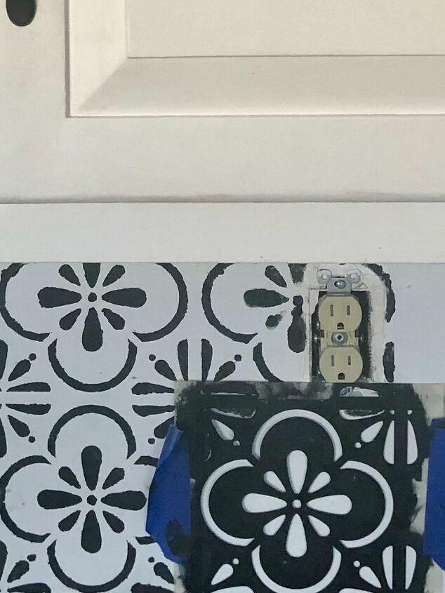 faux kitchen tile