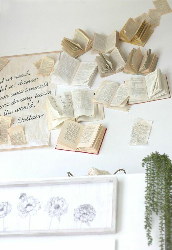 book wall tutorial