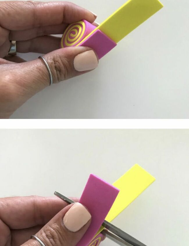 how to make these candy magnets with foamy