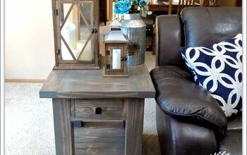 DIY Pottery Barn Inspired End Tables