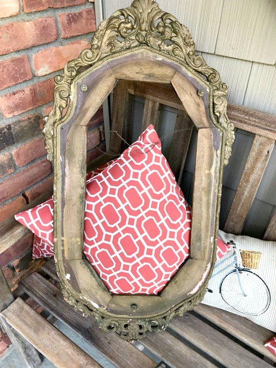 repurposed vintage frame find