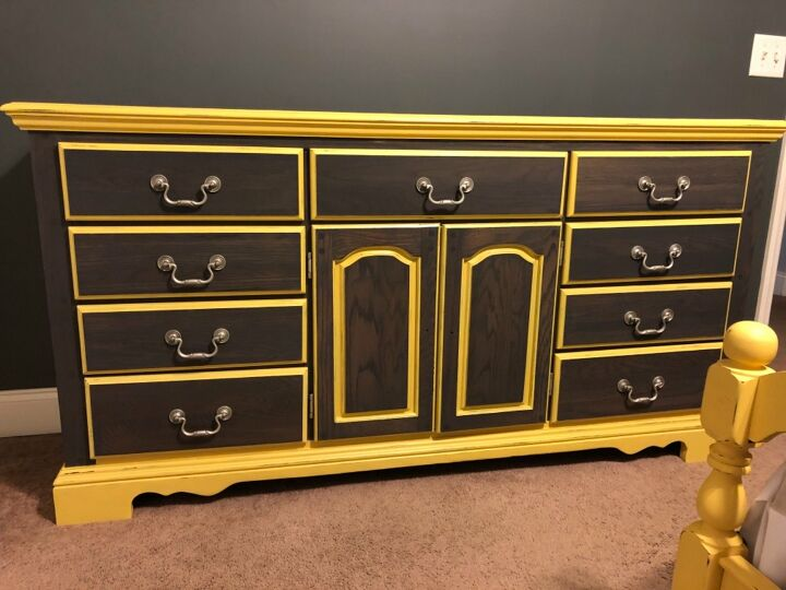s 21 ways to redo that old dresser you can t stand looking at anymore, This dresser refresh breathed new life into an old piece