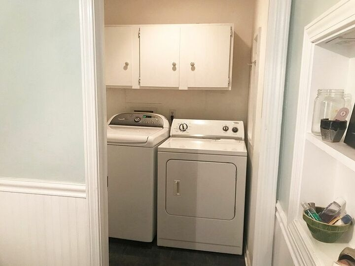 how to update your laundry room for only 200