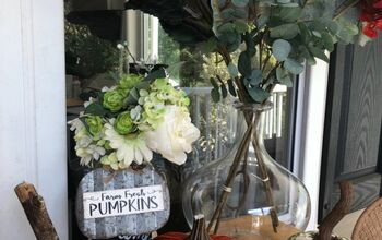 Napkins and Mod Podge and Pumpkins, Oh My!