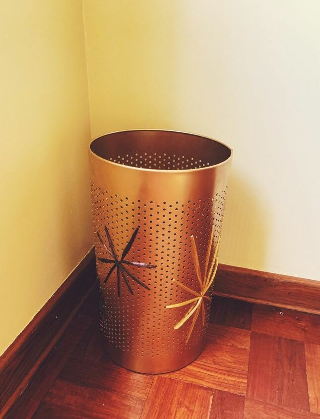 glam up a laundry bin