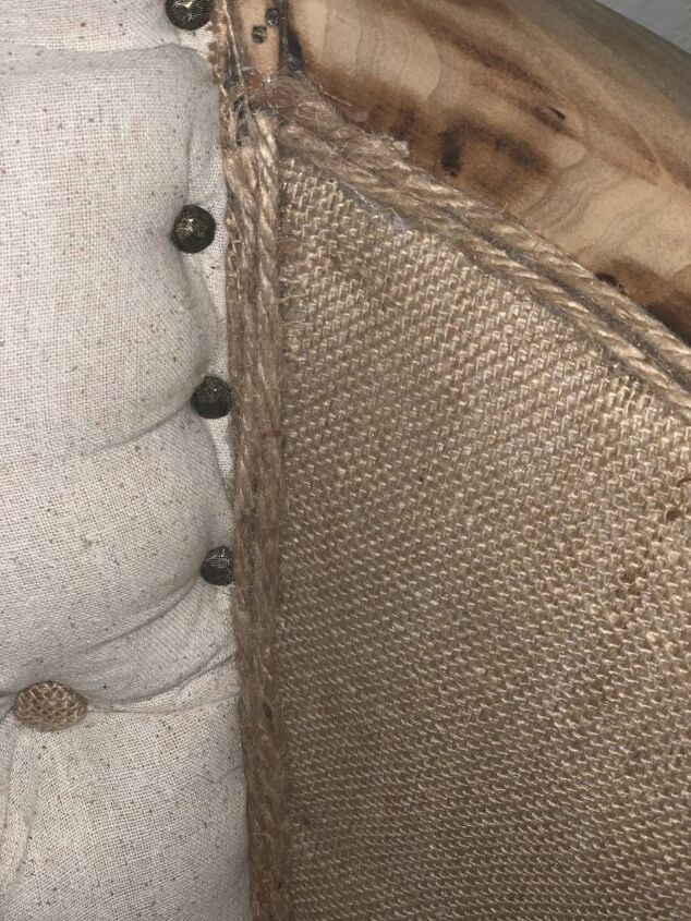 When burlap and twine meet.