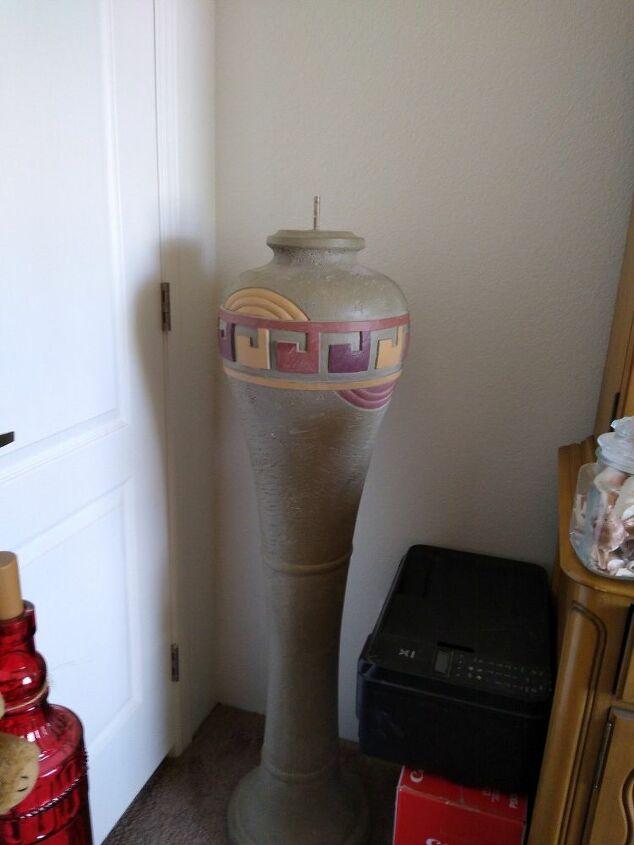 q repurpose a floor lamp