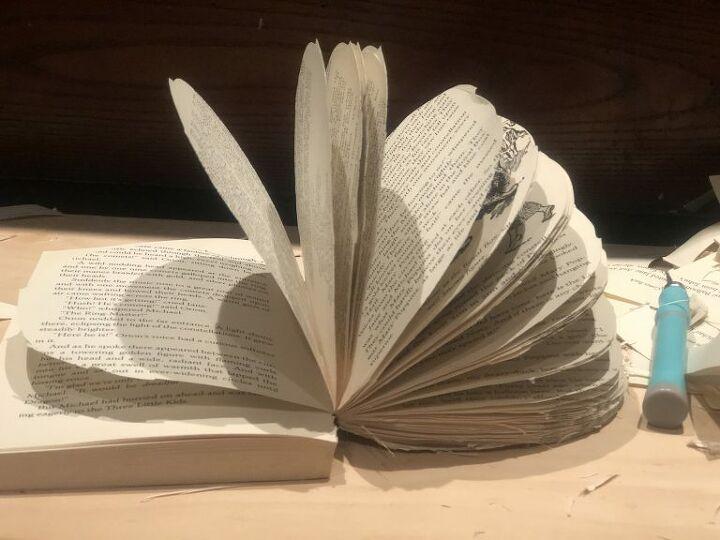enchanted book pumpkin diy