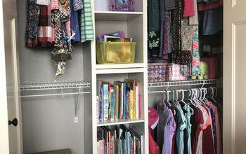 DIY Shared Closet Organization System