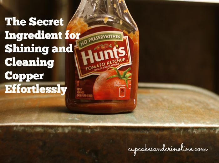 the secret sauce for cleaning and polishing copper effortlessly