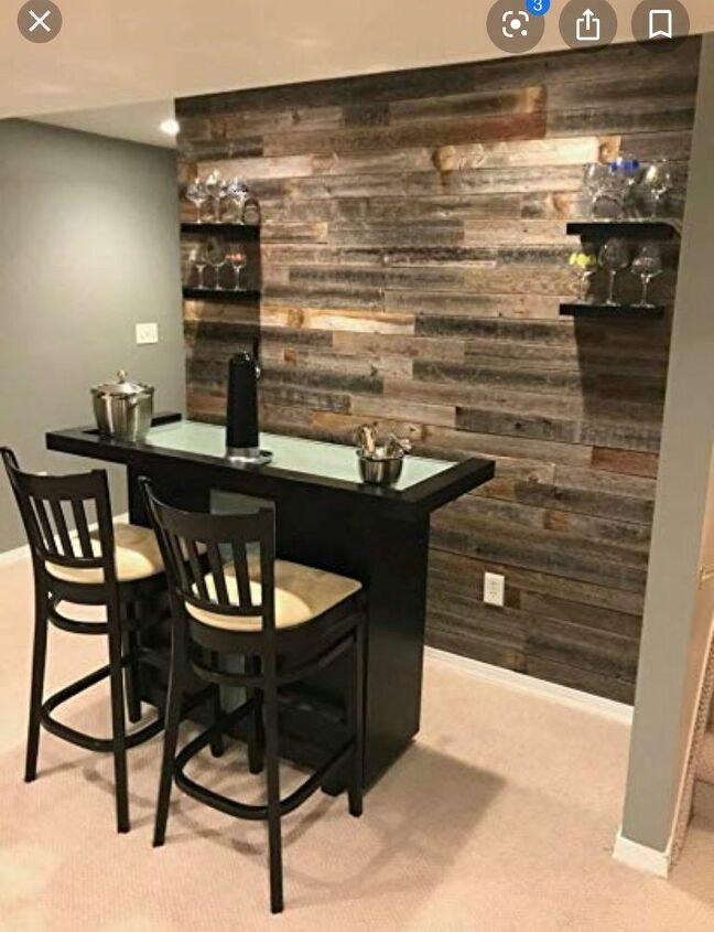 q how do i create a focus wall with reclaimed wood