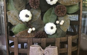 How to Decorate a Tobacco Basket for Seasons & Holidays