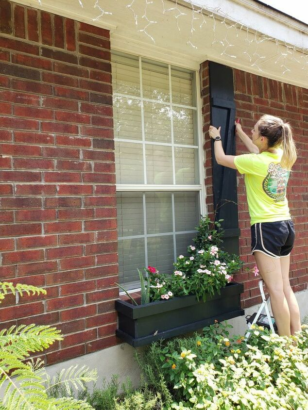 easy diy farmhouse shutters