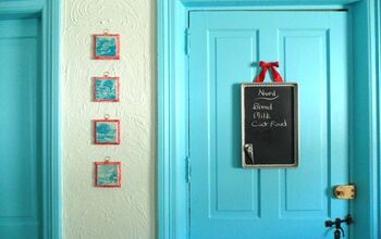 Repurposed Vintage Cookie Sheet Chalkboard