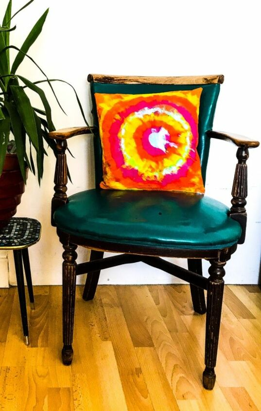 Unicorn spit gel stain cushion cover makeover