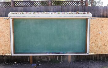 Large Chalkboard for Backyard