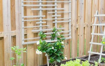 Easy DIY Trellis With a Modern Style