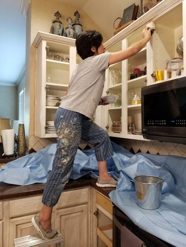 Shabby Chic Kitchen Cabinets Hometalk