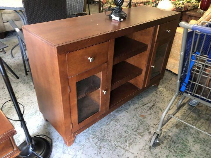 thrift store challenge furniture makeover
