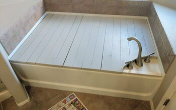 Make A Beautiful Removable Bathtub Cover
