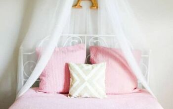 Make an Easy Bed Canopy