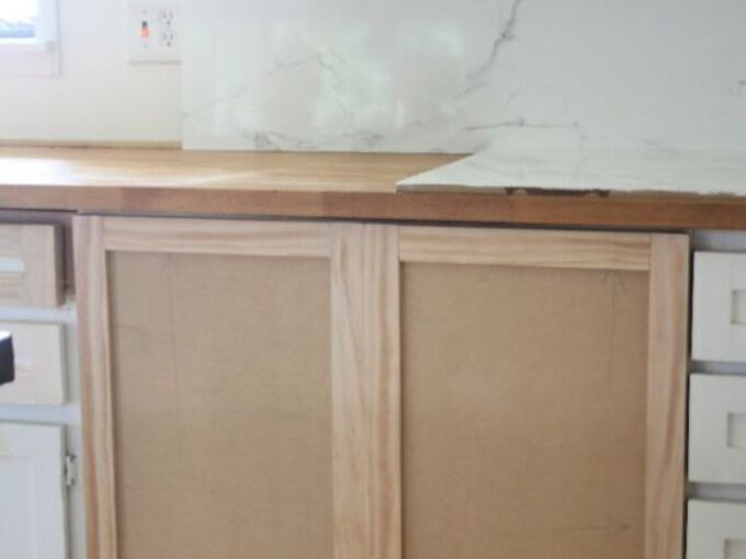 how to make shaker style cabinet doors the easy way