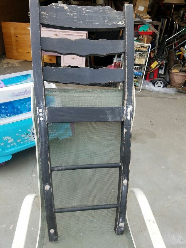 chair back accessory rack