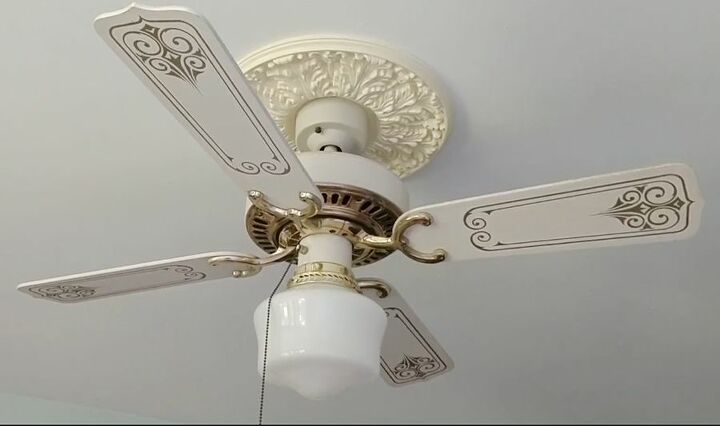 updating an old ceiling fan