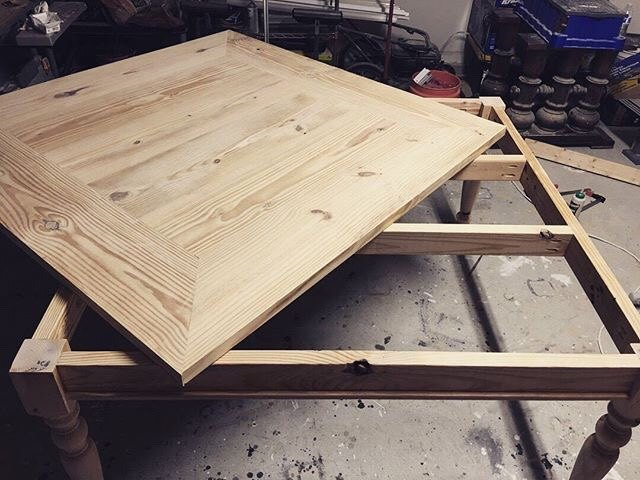 square farmhouse table
