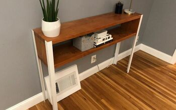 Clean, Modern Console Table