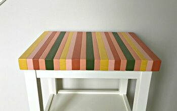 Build a Painted Block Table Top, From Cheap 2x4's