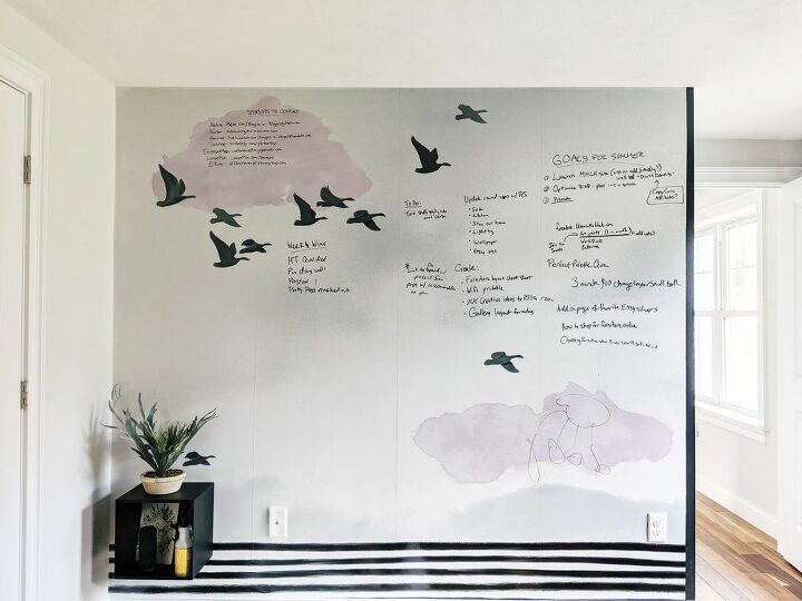 giant whiteboard mural fun for kids great for an office