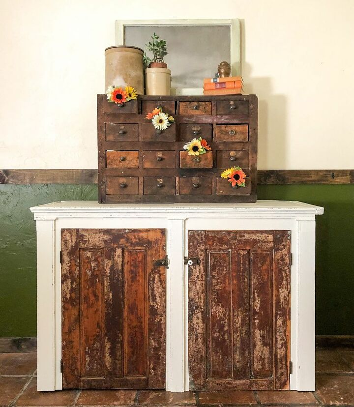 green to rustic treasure