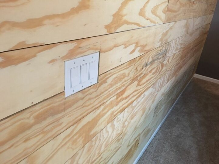 50 shiplap accent wall