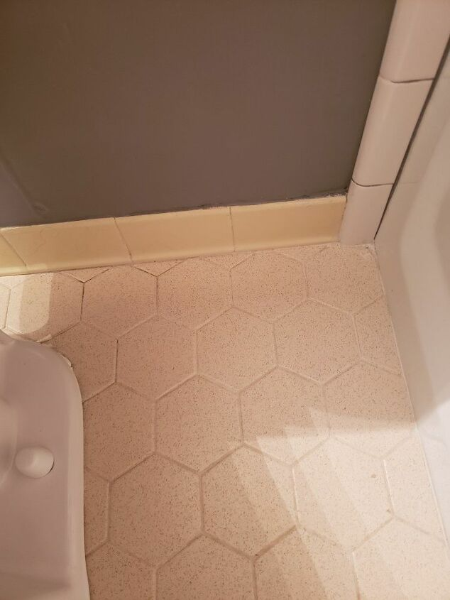 q paint tile bathroom floors