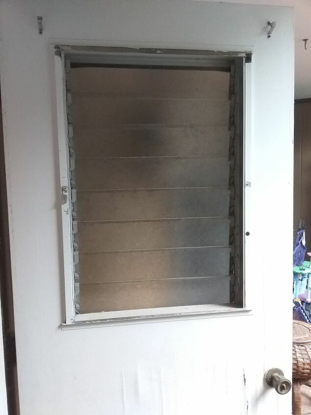 q repair rehab old veneer door