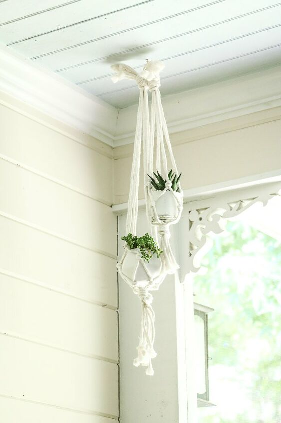 s join this years mst popular wall trend, Macrame Plant Hanger That Will Jazz Up Your H