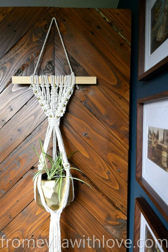 s join this years mst popular wall trend, Create a Beautiful Macrame Wall Hanging Plant