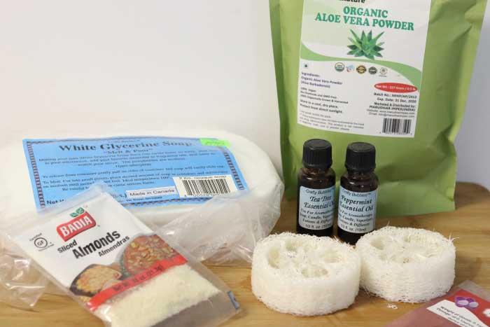 exfoliating foot soap