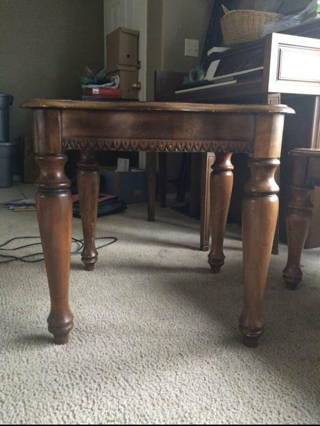 refinished coffee table set