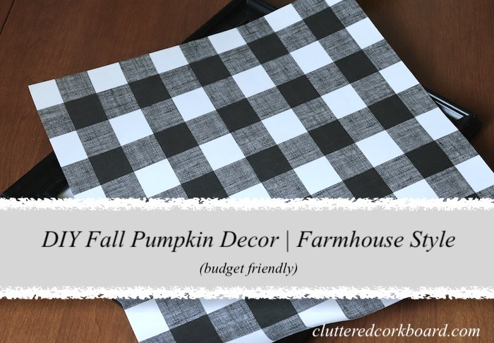 diy budget friendly and simple fall pumpkin decor with farmhouse style