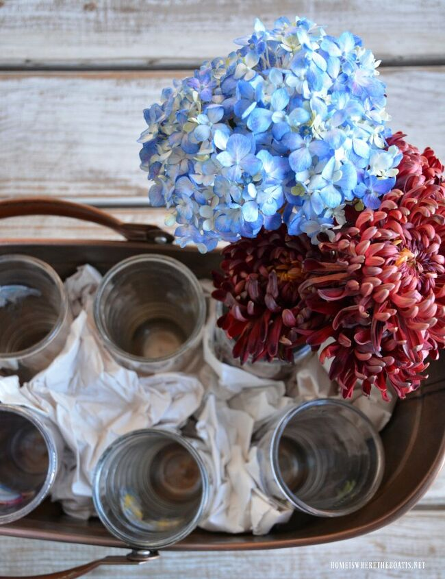 diy blooming fall centerpiece no flower arranging skills required