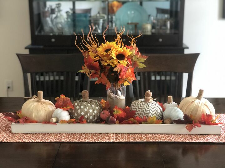 s 13 gorgeous table decor ideas for you o copy this fall, Dollar store pumpkins makeover