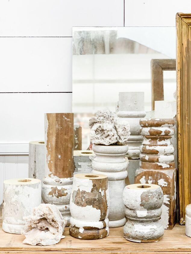 s 13 gorgeous table decor ideas for you o copy this fall, DIY farmhouse style candlesticks