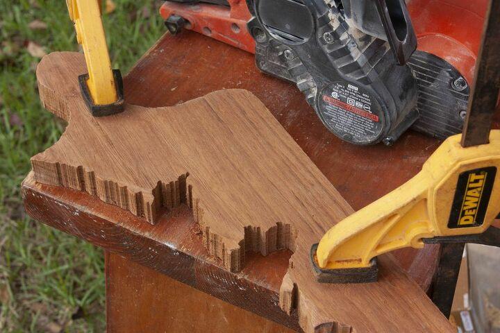 scrap wood resin charcuterie board
