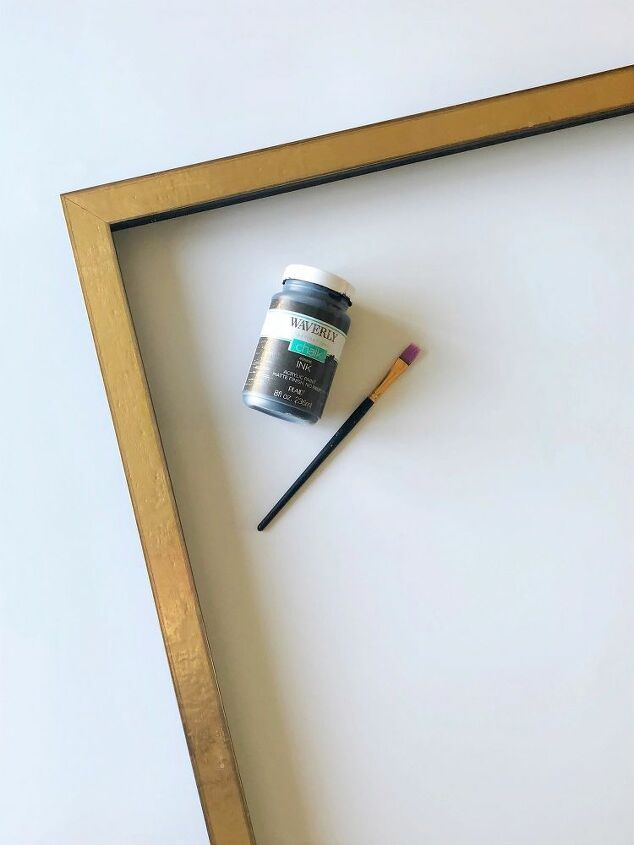 anthropologie pointillism wall art hack