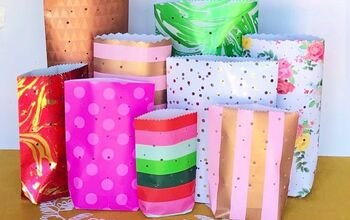 Easy Wrapping Paper Lanterns